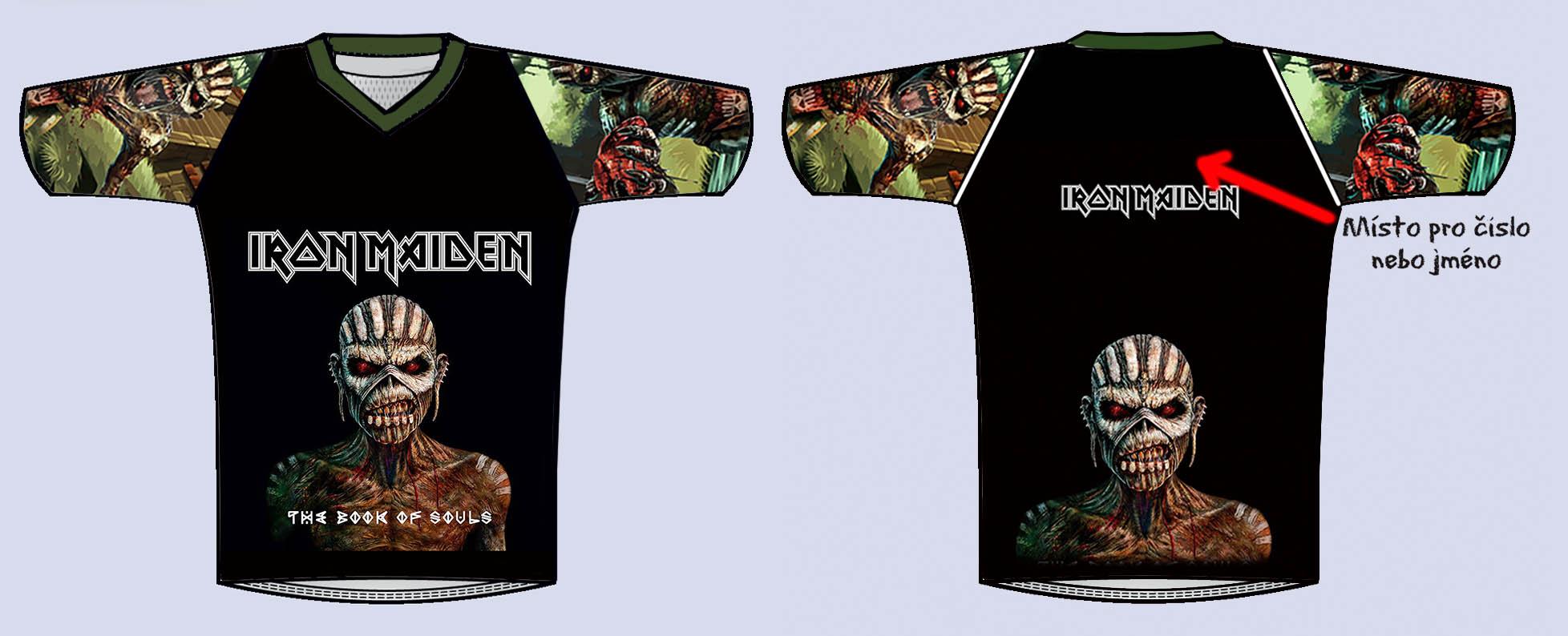 d9ab380fae Fotbalový dres-Iron Maiden 02