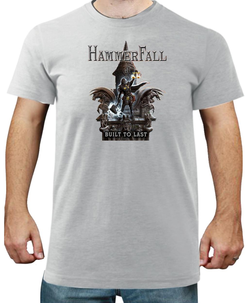 Tričko pánské-Hammerfall 01  749af1c650