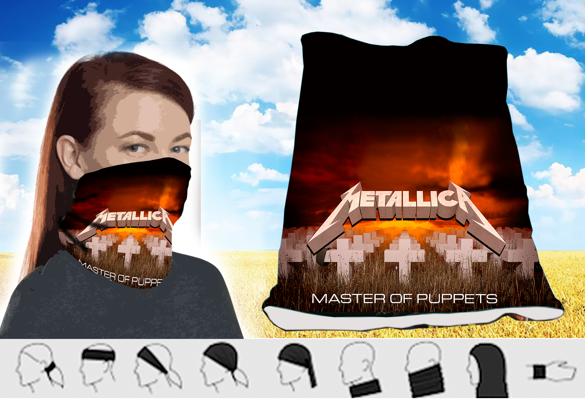 Twister simple-Metallica