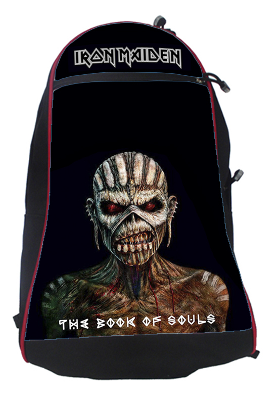 Batoh Metal-Iron Maiden The Book