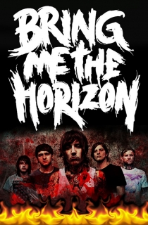 Vlajka-Bring me the horizon