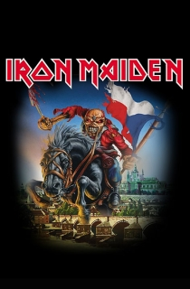 Vlajka-Iron Maiden Prague