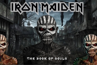 Ubrus-Iron Maiden The Book