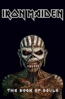 Vlajka-Iron Maiden The Book