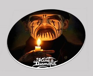 Podtácek kulatý-King Diamond