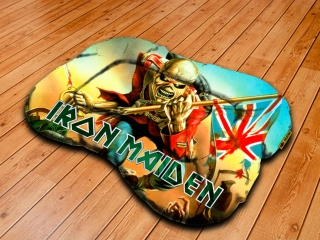 Dog pillow L-Iron Maiden  Trooper