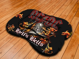 Dog pillow XL-ACDC