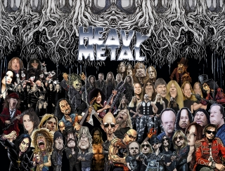 Minivlajka-Heavy metal