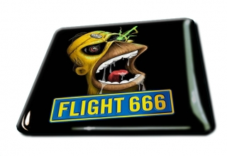 3D magnetka-Flight 666