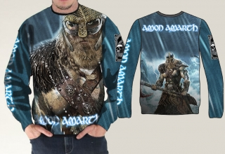 Mikina full print-Amont Amarth