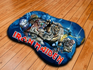 Dog pillow L-Iron Maiden 2